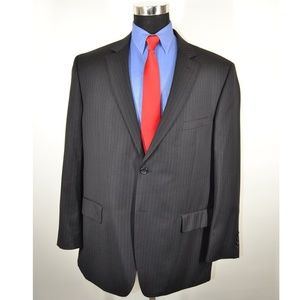 Pronto Uomo 48R Sport Coat Blazer Suit Jacket Char